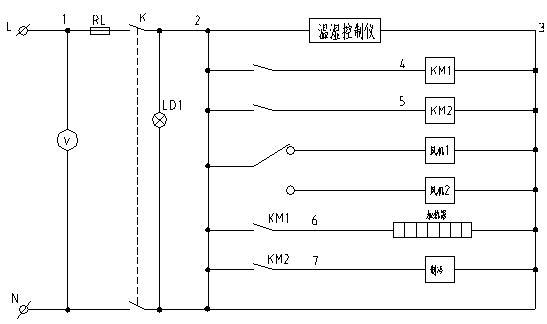 b) 熔断器烧坏 更换同规格熔断器 c) 控制仪接线端螺钉